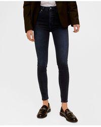 Mango - High Waist Skinny Noa Jeans - Lyst