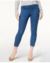 Hue - ® Original Denim Capri Leggings, Created For Macy's - Lyst