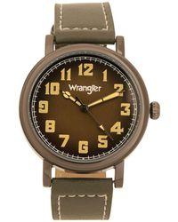 Wrangler Watch - Green