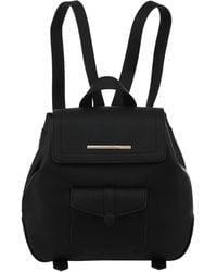 Kensie Boho Lightweight Rucksack Backpack - Black