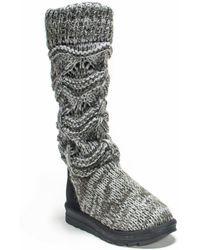 Muk Luks Jamie Boots - Grey