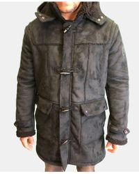 Heritage America Shearling Jacket - Black