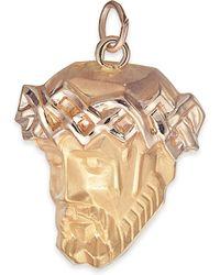 Macy's - Christ Head Pendant In 14k Gold - Lyst
