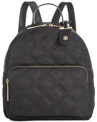 3bbffb6c076 Tommy Hilfiger Julia Star Nylon Large Dome Backpack - Lyst