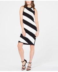 c91057f8 INC International Concepts - I.n.c. Sleeveless Striped Sweater Dress,  Created For Macy's - Lyst