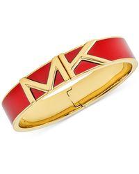 Michael Kors Colorful Logo Bangle Bracelet - Multicolour