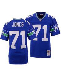 Mitchell & Ness - Walter Jones Seattle Seahawks Replica Throwback Jersey - Lyst