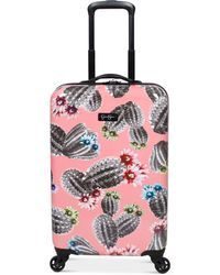 "Jessica Simpson - Cactus Printed 21"" Hardside Spinner Suitcase - Lyst"