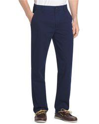 Izod Straight-fit Performance Chino Pants - Blue
