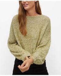 Mango Textured Sweater - Multicolor