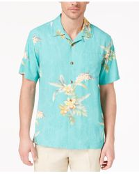 Tommy Bahama - Open Water Blooms Silk Shirt - Lyst