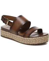 Naturalizer Patience Platform Slingback Sandals - Brown
