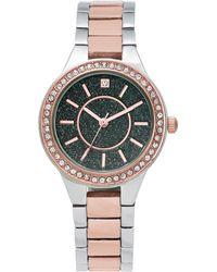 Charter Club - Women's Two-tone Bracelet Watch 32mm - Lyst