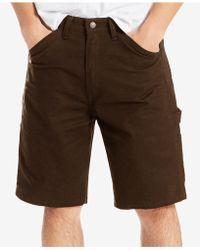 Levi's - Loose Fit Stretch Carpenter Shorts - Lyst