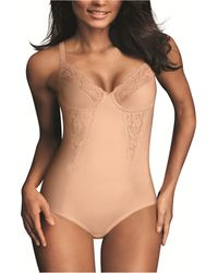 Maidenform - Firm Control Embellished Unlined Shaping Bodysuit1456 - Lyst