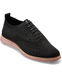 Cole Haan Originalgrand Stitchlite Wingtip Oxford - Black