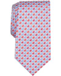 Perry Ellis Narcissa Classic Check Tie - Red