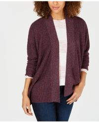 Style & Co. - Ribbed Open-front Cardigan, Created For Macy's - Lyst