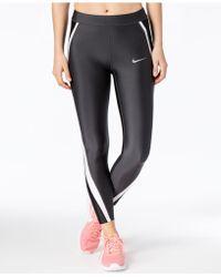 Nike - Power Speed Running Leggings - Lyst