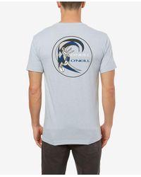 O'neill Sportswear Circle Surfer Short Sleeve T-shirt - Blue