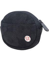 Token Leather Coin Purse - Black