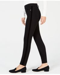 Maison Jules - Side-stripe Skinny Jeans, Created For Macy's - Lyst