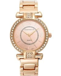 Charter Club - Rose Gold-tone Bracelet Watch 35mm - Lyst