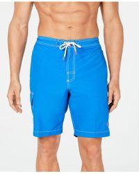 """Tommy Bahama Baja Beach 9"""" Swim Trunks - Blue"""
