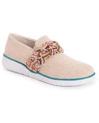 Muk Luks Boardwalk Stroll Sneakers - Multicolour