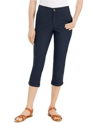 Style & Co. Capri Pants, Created For Macy's - Blue