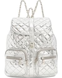Steve Madden - Hollie Quilted Metallic Backpack - Lyst