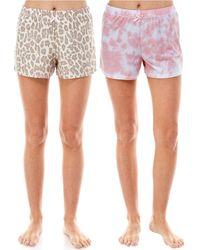 Roudelain 2-pk. Printed Sleep Shorts - Multicolor