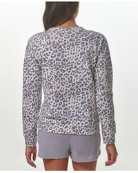 Marc New York Long Sleeve Printed French Terry Pullover - Multicolour