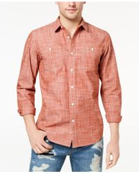 American Rag - Chambray Shirt, Created For Macy's - Lyst