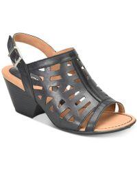 b.ø.c. Dixie Dress Sandals - Black