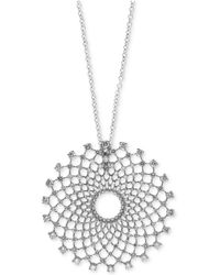 Effy Collection - Diamond Pendant Necklace (2-1/3 Ct. T.w.) In 14k White Gold - Lyst
