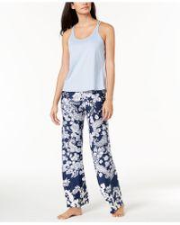 019bea979a Linea Donatella - Juno Crisscross Pajama Set - Lyst