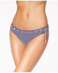 Jessica Simpson - Twiggy Striped Bikini Bottoms - Lyst