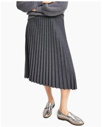 Alfani Pleated Skirt, Created For Macy's - Gray