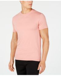 4098e8f18 32 Degrees Cool Ultra-soft Light Weight Crew-neck T-shirt in Pink ...