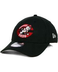 buy online b0be2 0c337 KTZ Cincinnati Reds Clubhouse 39Thirty Cap in Gray for Men - Lyst