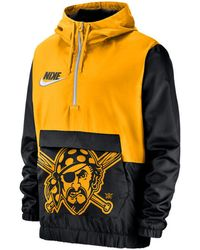 725069c71f0ac Lyst - Nike Men s Pittsburgh Steelers Vapor Speed Fly Rush Pullover ...