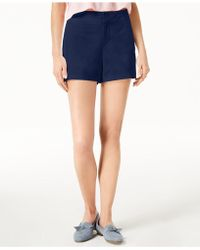 """Maison Jules - 6"""" Shorts, Created For Macy's - Lyst"""
