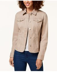 Charter Club Denim Jacket, In Regular And Petite, Created For Macy's - Multicolor