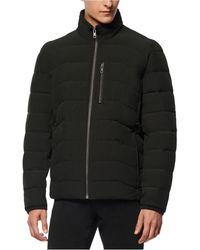 Marc New York Carlisle Stretch Packable Moto Jacket - Black