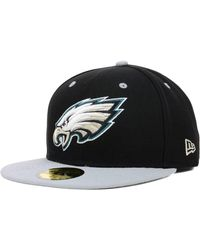 best service 404bf 291c5 KTZ - Philadelphia Eagles 2 Tone 59fifty Fitted Cap - Lyst