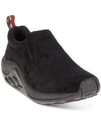 Merrell Jungle Moc Slip-on Shoes - Black