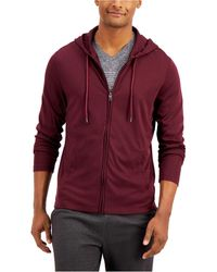 Alfani - Alfatech Long-sleeve Hoodie, Created For Macy's - Lyst