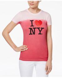 Macy's - I Love Ny Dip Dye T-shirt - Lyst