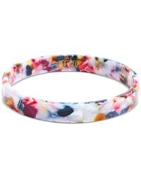 Zenzii Tortoise-look Bangle Bracelet - Multicolour